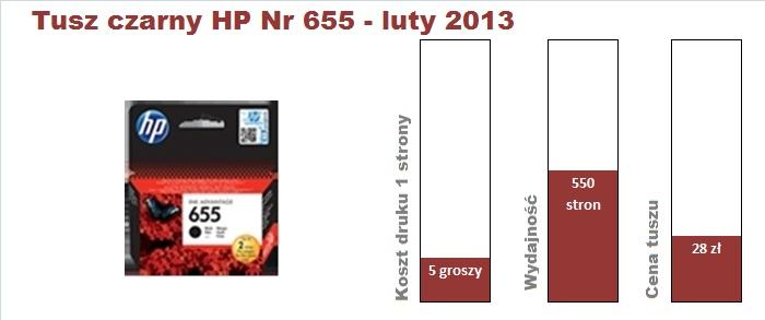 hp 3525 tusz czarny 201302