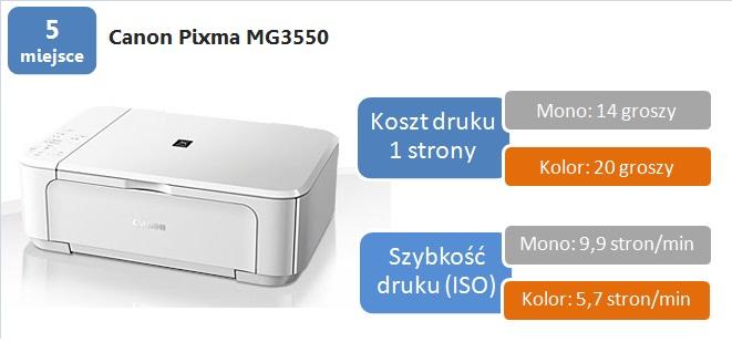 5 canon mg3550